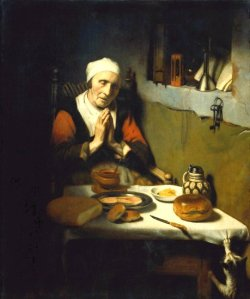 Old Woman Praying (Prayer without End) Nicholas Maes